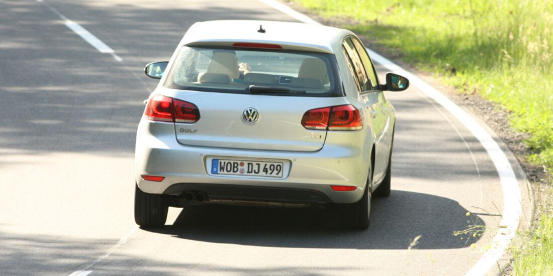 VW Golf 1.4 TSI, Heck, Rückansicht