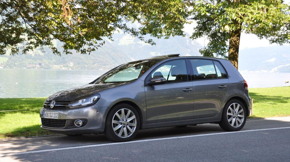 VW Golf 1.4 TSI, Seitenansicht