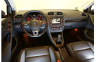 VW Golf 1.6 TDI, Innenraum, Cockpit