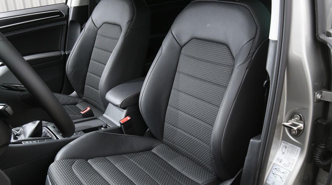VW Golf 2.0 TDI, Fahrersitz