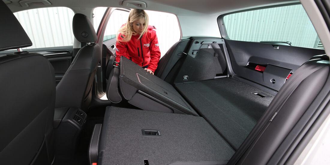 VW Golf 2.0 TDI, Fondsitz, Umklappen