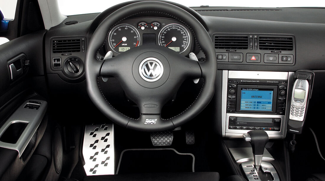 VW Golf 4 R32, Cockpit, Innenraum
