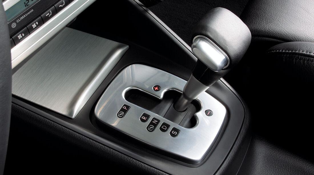 VW Golf 4 R32, Mittelkonsole, Schalthebel