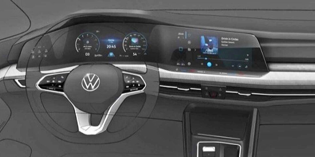 neuer vw golf 8 2019 cockpit motoren preis. Black Bedroom Furniture Sets. Home Design Ideas