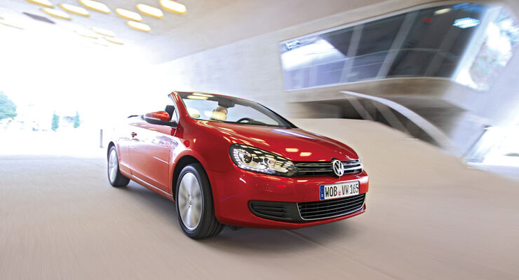 VW Golf Cabrio 1.4 TSI, Frontansicht, Front
