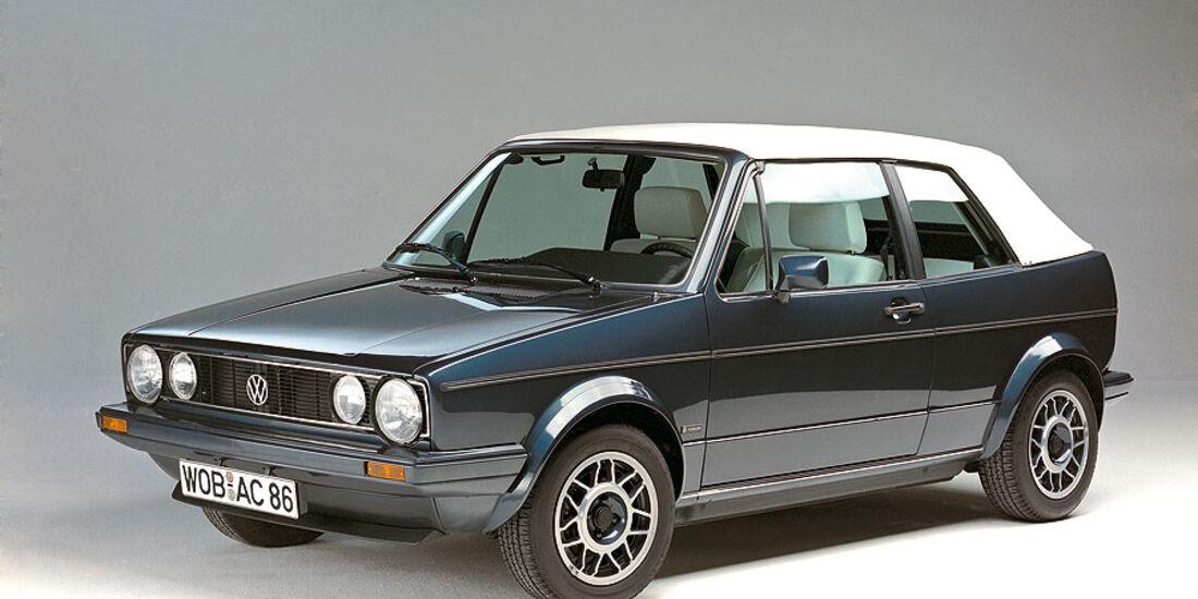 VW Golf Cabrio Baujahr 1987
