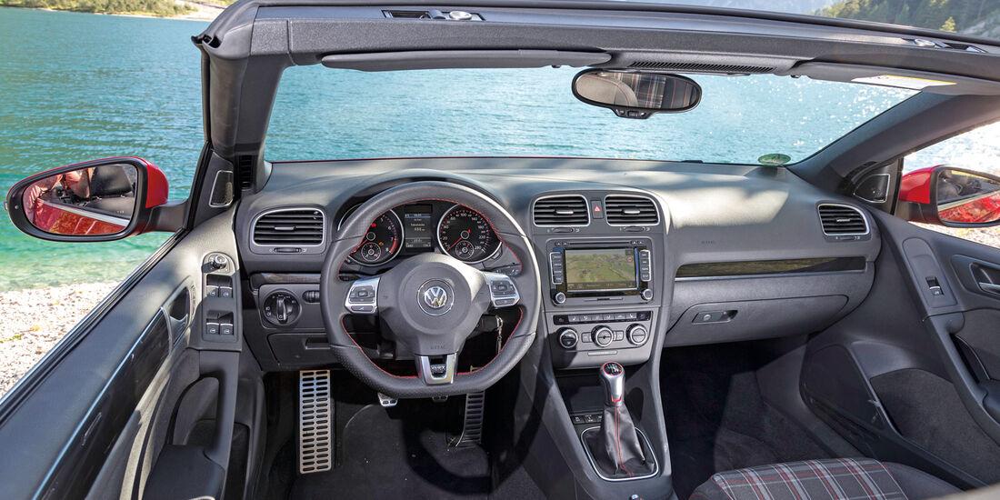 VW Golf Cabrio, Cockpit