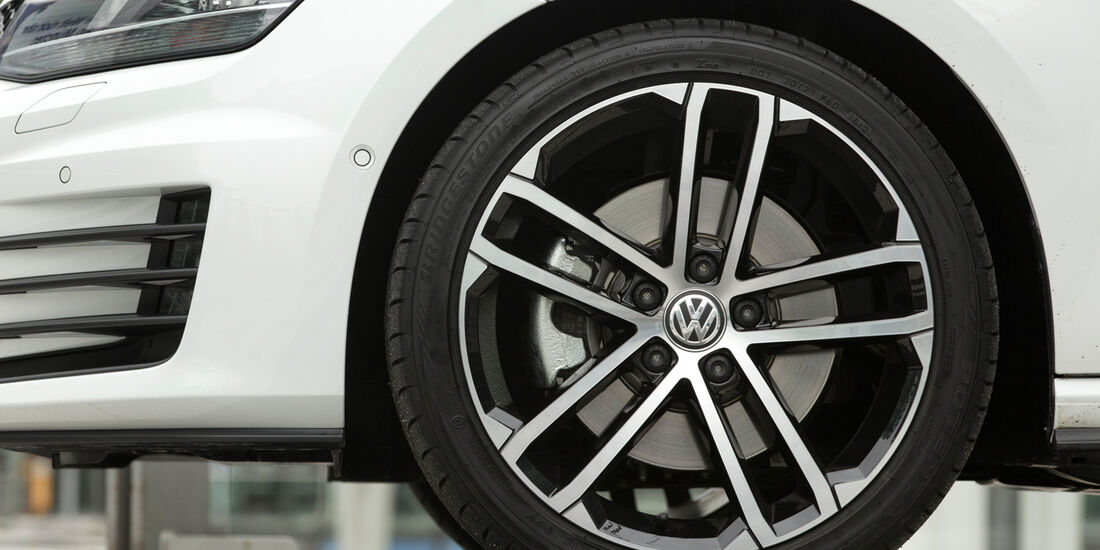 VW Golf GD, Rad, Felge, Bremse