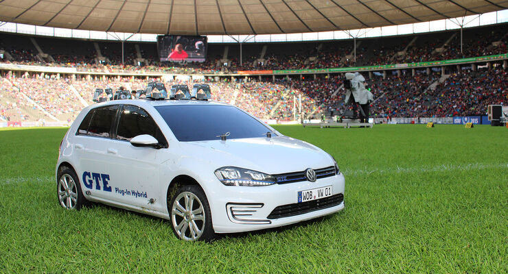 VW Golf GTE ISTAF 2015 Modellauto 1:5