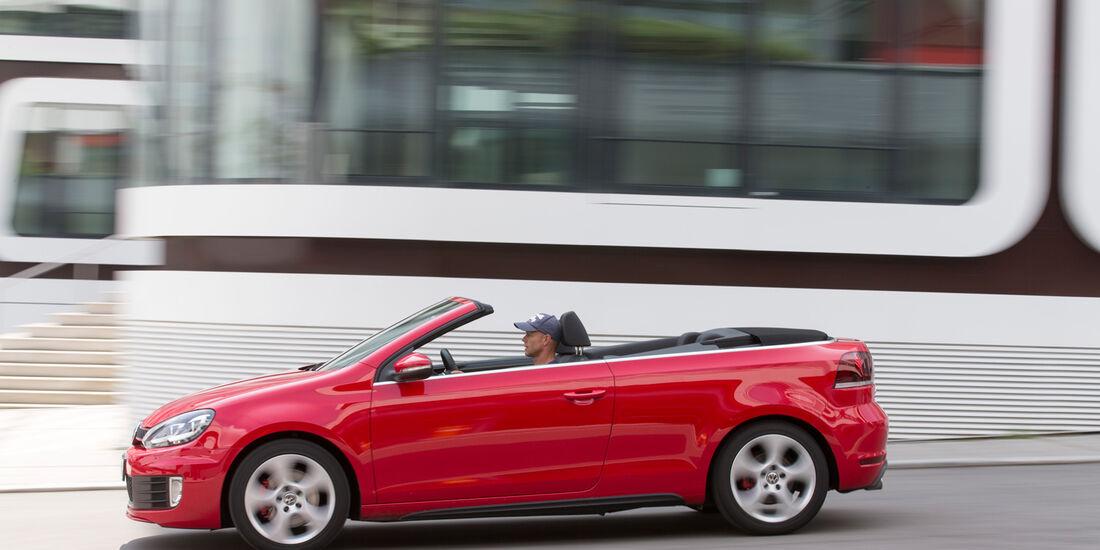 VW Golf GTI Cabrio, Seitenansicht