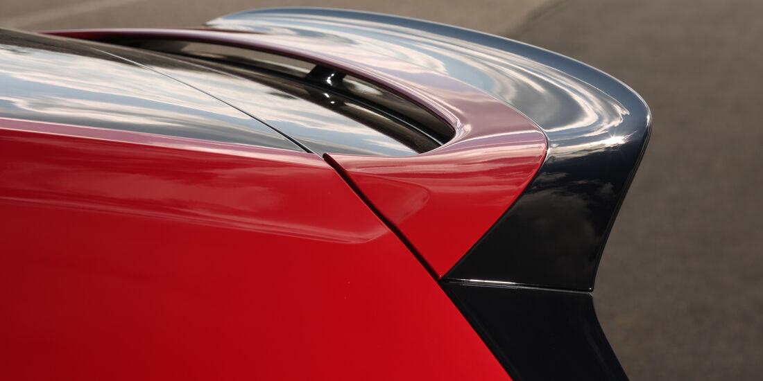 VW Golf GTI Clubsport, Dachspoiler
