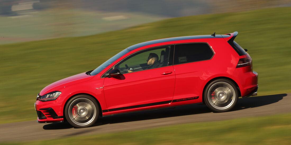 VW Golf GTI Clubsport, Seitenansicht
