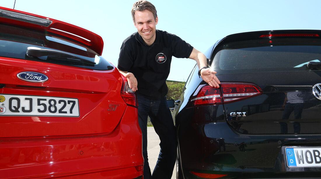VW Golf GTI Performance, Ford Focus ST, Christian Gebhardt