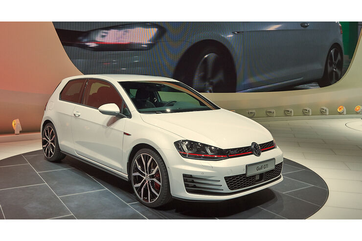 vw golf vii gti 2013 vorhang auf f r gti nummer 7 auto. Black Bedroom Furniture Sets. Home Design Ideas