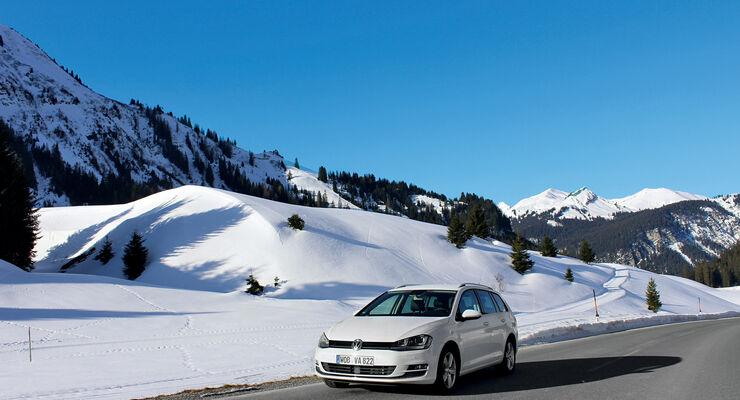 VW Golf Golf 2.0 TDI Variant, Frontansicht
