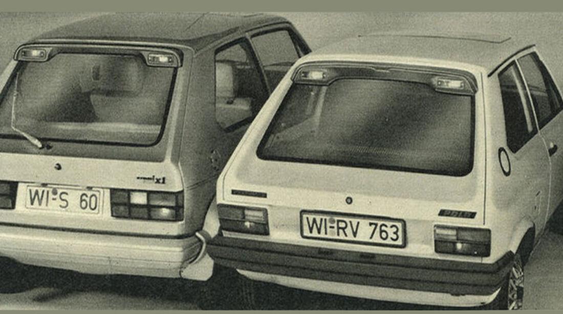 VW, Golf, Polo, IAA 1981