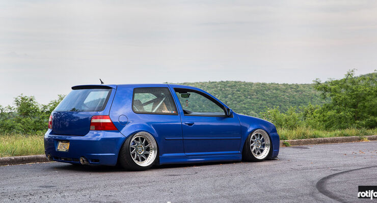 VW Golf R32 - Felgen - rotiform -