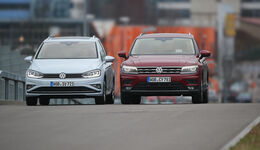 VW Golf Sportsvan 1.5 TSI Act, VW Tiguan 1.4 TSI Act, Exterieur