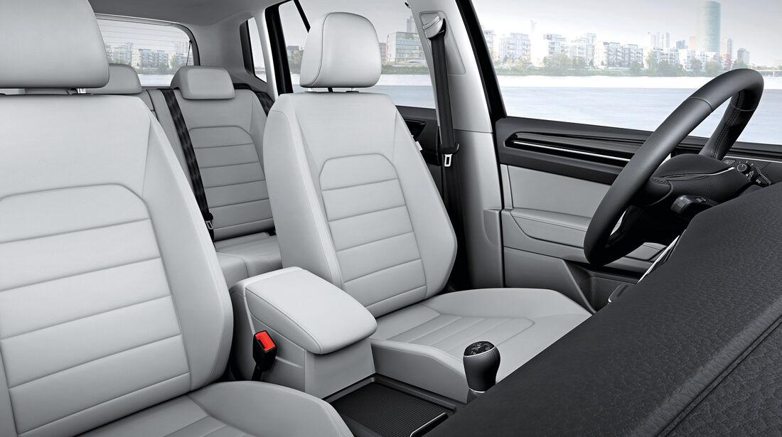 VW Golf Sportsvan, Komfortsitze, Innenraum