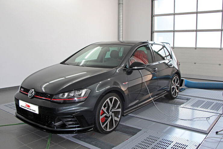 vw golf vii gti clubsport power plus von speedbuster. Black Bedroom Furniture Sets. Home Design Ideas
