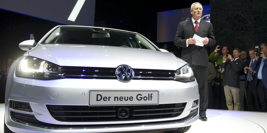 VW Golf VII Präsentation Berlin,
