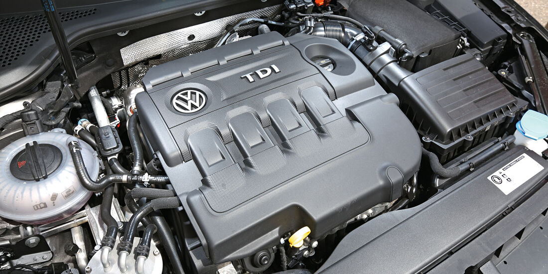 VW Golf Variant 2.0 TDI, Motor
