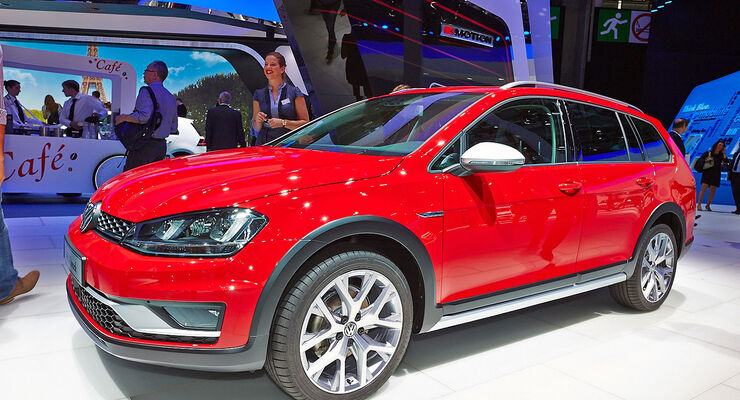 vw golf variant alltrack auf dem autosalon paris golf. Black Bedroom Furniture Sets. Home Design Ideas