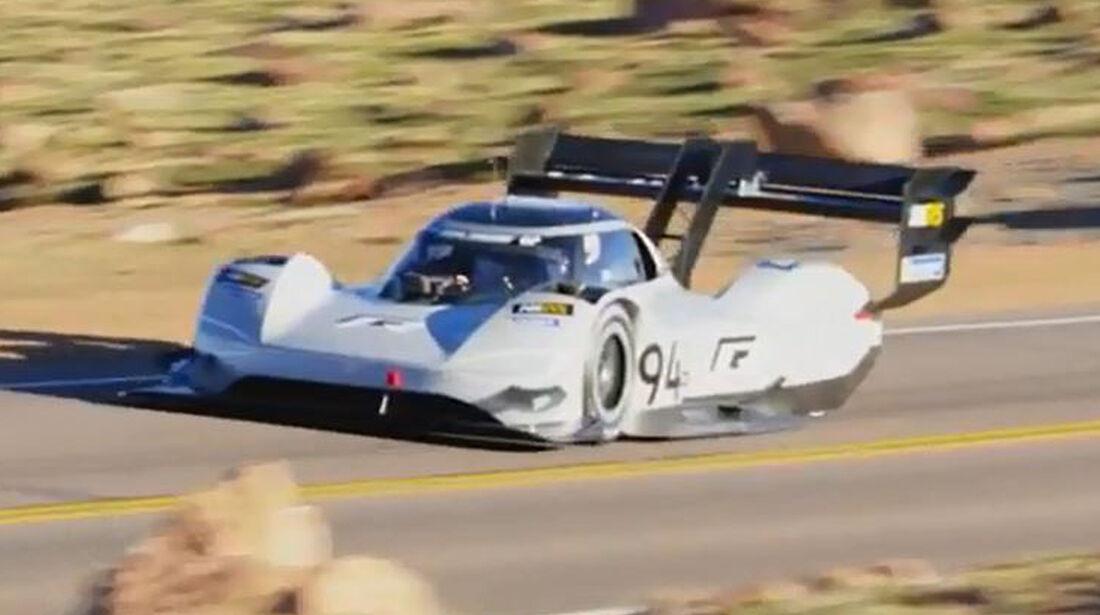 VW I.D. R Pikes Peak final