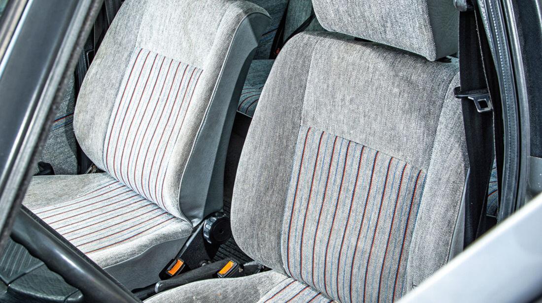 VW Jetta 1.8, Fahrersitz