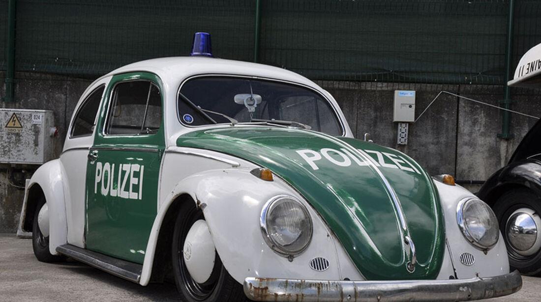 VW Käfer Ovali Polizei