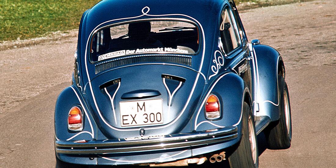 VW Käfer Tuning Mahag
