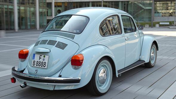 VW Käfer Ultima Edicion, Heckansicht