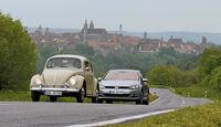 VW Käfer, VW Golf, Impression, Oldtimer