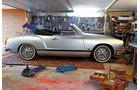 VW Karmann-Ghia Cabriolet, Seitenansicht, Garage