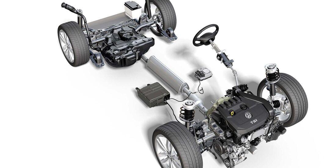 VW Mildhybrid 48V-System Golf VIII