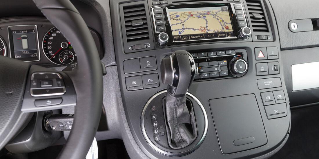 VW Multivan 2.0 BiTDI BMT, Bedienelement, Mittelkonsole