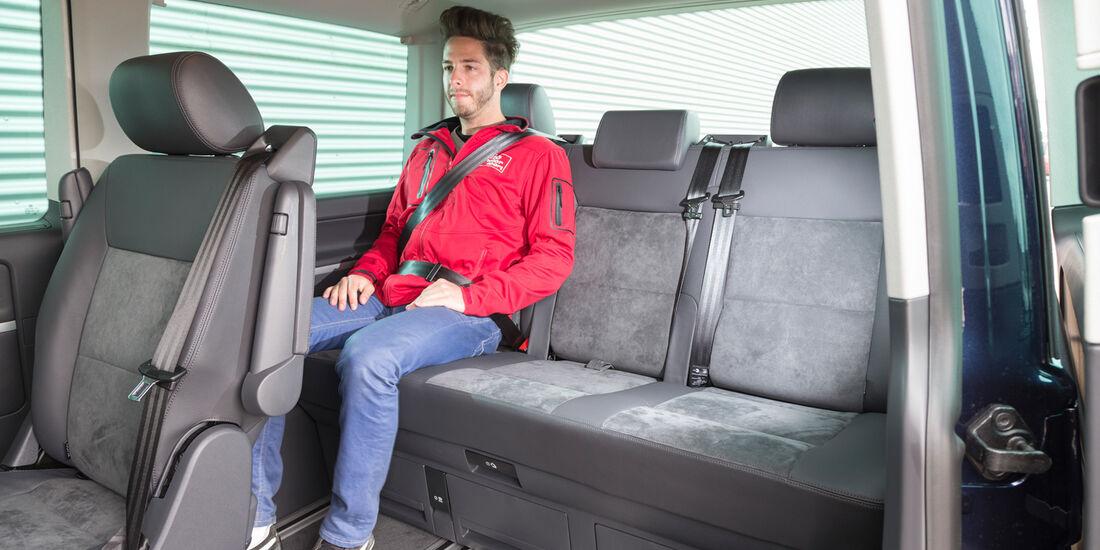 VW Multivan 2.0 BiTDI BMT, Fondsitz