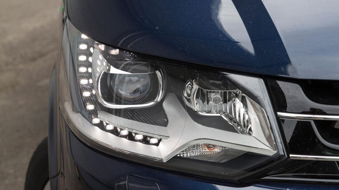 VW Multivan 2.0 BiTDI BMT, Frontscheinwerfer