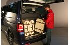 VW Multivan T5, Kofferraum
