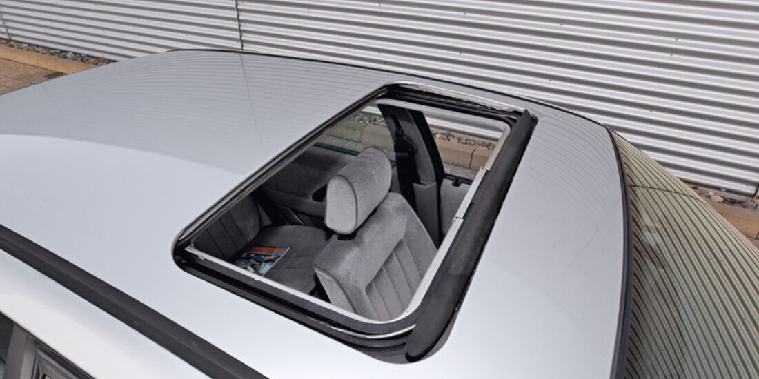 VW Passat 1.8 GL, Dachfenster, Dachluke