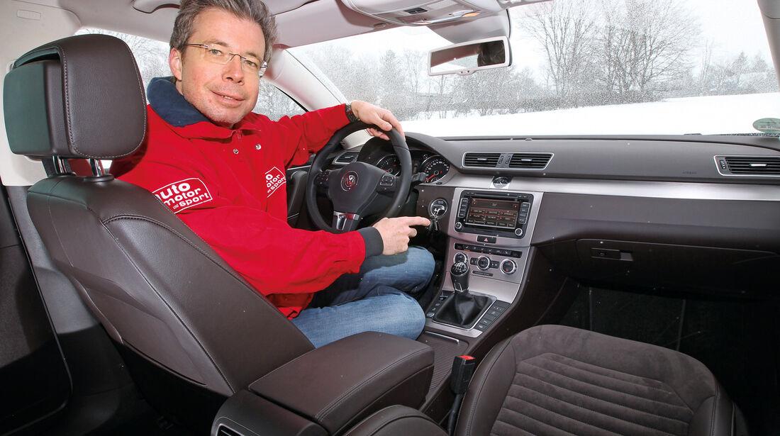 VW Passat 2.0 TDI BMT, Dirk Gulde