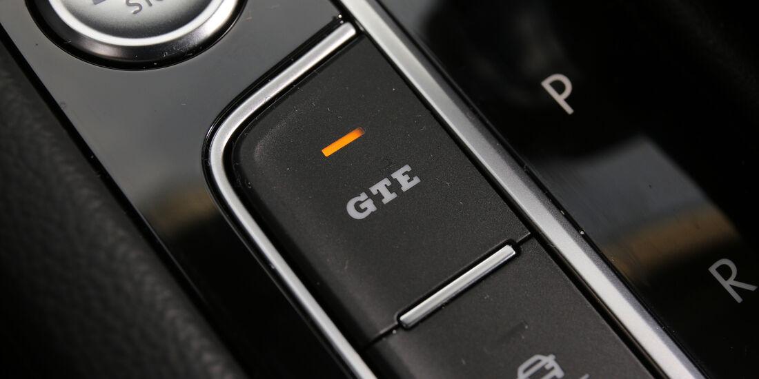 VW Passat GTE, Bedienelemente