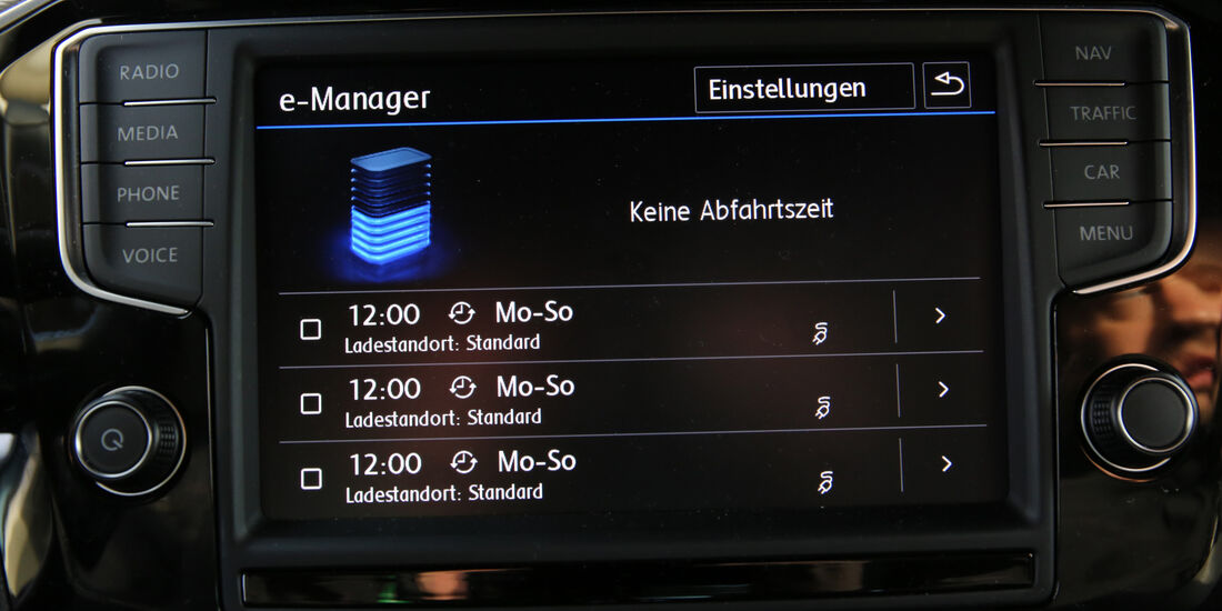 VW Passat GTE, Infotainment