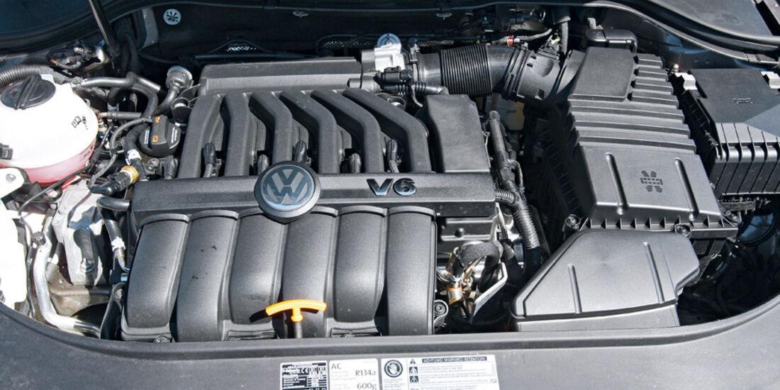 VW Passat, Motor, 3.6 V6 4Motion