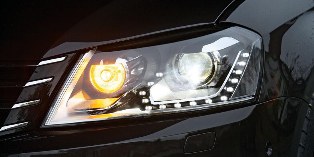 VW Passat, Scheinwerfer