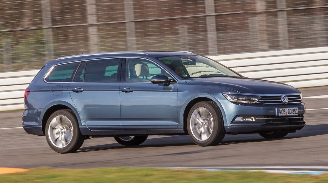 VW Passat Variant 2.0 TDI, Seitenansicht