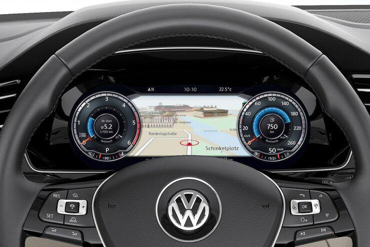 Auto cockpit vw  Das Active Info Display des VW Passat - auto motor und sport