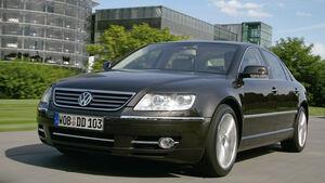 VW Phaeton, Frontansicht