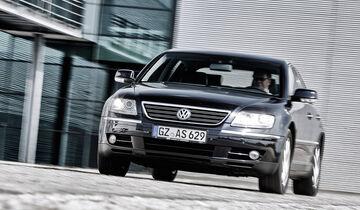 VW Phaeton V10 TDI Motion, Frontansicht