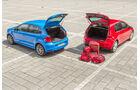 VW Polo 1.2 TSI, VW Golf 1.2 TSI, Heckklappe